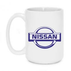 Кружка 420ml логотип Nissan - FatLine