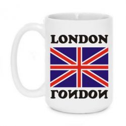 Кружка 420ml LONDON - FatLine