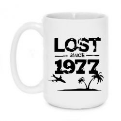 Кружка 420ml LOST since 1977 - FatLine