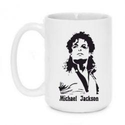 Кружка 420ml Майкл Джексон - FatLine