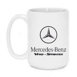 Кружка 420ml Mercedes Benz - FatLine
