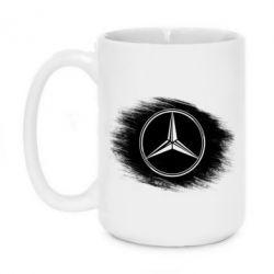 Кружка 420ml Мерседес арт, Mercedes art