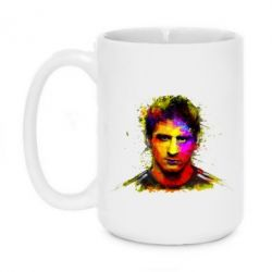 Кружка 420ml Messi Art