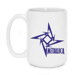 Кружка 420ml Metallica Logotype - FatLine