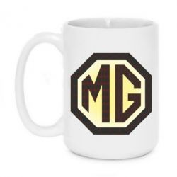 Кружка 420ml MG Cars Logo - FatLine