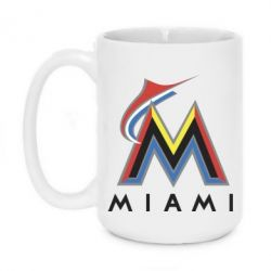 Кружка 420ml Miami Marlins