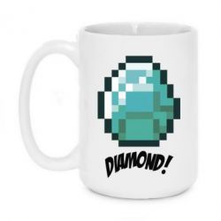 Кружка 420ml Minecraft Diamond!