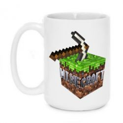 Кружка 420ml Minecraft Logo Сube - FatLine
