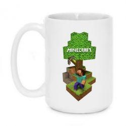 Кружка 420ml Minecraft Steve