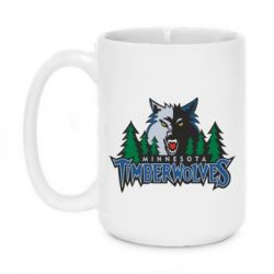 Кружка 420ml Minnesota Timberwolves