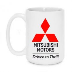 Кружка 420ml Mitsubishi Motors - FatLine