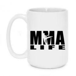 Кружка 420ml MMA Life