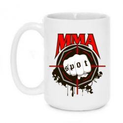 Кружка 420ml MMA Spot - FatLine