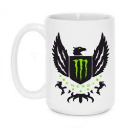 Кружка 420ml Monster Energy Army