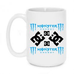 Кружка 420ml Monster Energy DC Logo