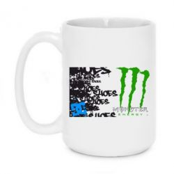 Кружка 420ml Monster Energy DC Shoes - FatLine
