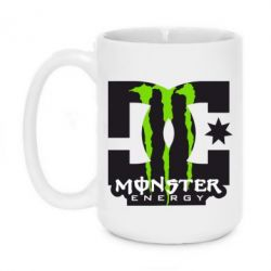 Кружка 420ml Monster Energy DC
