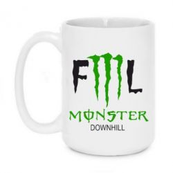 Кружка 420ml Monster Energy Downhill - FatLine