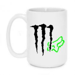 Кружка 420ml Monster Energy FoX
