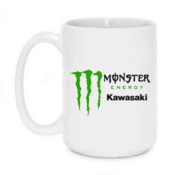 Кружка 420ml Monster Energy Kawasaki - FatLine
