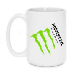 Кружка 420ml Monster Energy под наклоном