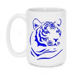 Кружка 420ml Морда тигра - FatLine