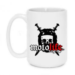 Кружка 420ml Motolife - FatLine