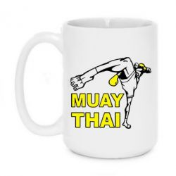 Кружка 420ml Muay Thai Hight kick - FatLine
