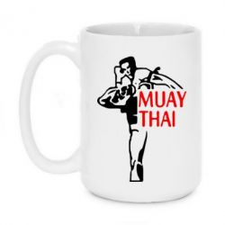 Кружка 420ml Muay Thai kick