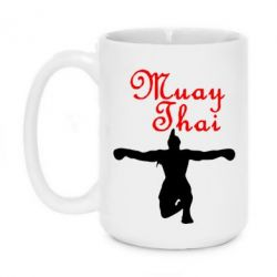 Кружка 420ml Muay Thai Logo - FatLine