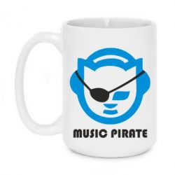 Кружка 420ml Music pirate