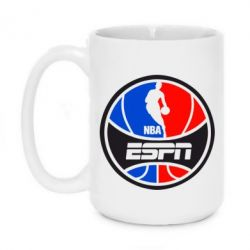 Кружка 420ml NBA ESPN - FatLine