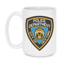 Кружка 420ml New York Police Department - FatLine