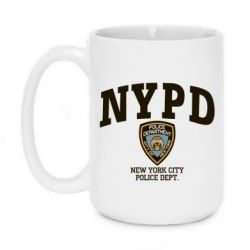 Кружка 420ml New York Police - FatLine