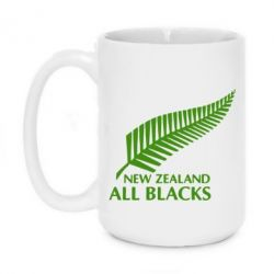 Кружка 420ml new zealand all blacks - FatLine
