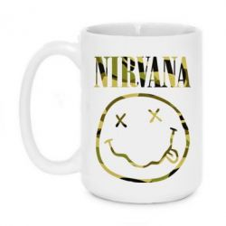 Кружка 420ml Nirvana camouflage - FatLine