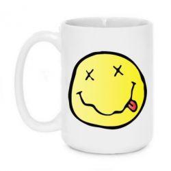 Кружка 420ml Nirvana Logo 3D