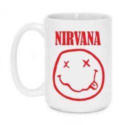 Кружка 420ml Nirvana (Нірвана) - FatLine