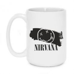 Кружка 420ml Nirvana Smile - FatLine