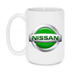 Купить Кружка 420ml Nissan Green, FatLine
