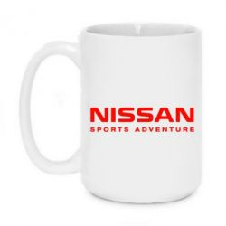 Кружка 420ml Nissan Sport Adventure - FatLine