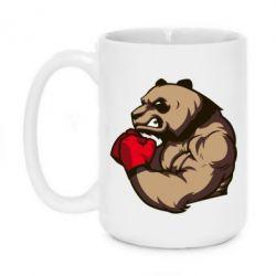 Кружка 420ml Panda Boxing - FatLine