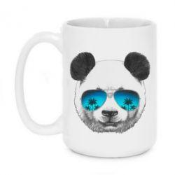 Кружка 420ml Панда в очках - FatLine
