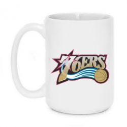 Кружка 420ml Philadelpia 76ers