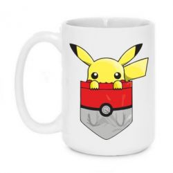 Кружка 420ml Pikachu in pocket - FatLine