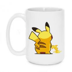 Кружка 420ml Pikachu Pisses - FatLine