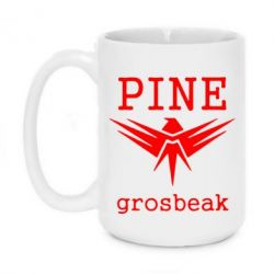 Кружка 420ml PINE Grosbeak - FatLine
