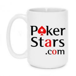 Кружка 420ml Poker Stars