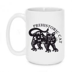 Кружка 420ml Prehistoric Cat - FatLine