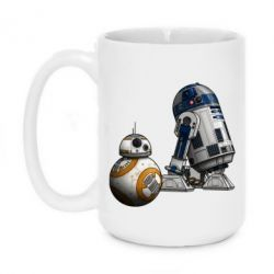 Кружка 420ml R2D2 & BB-8 - FatLine